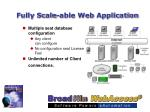 fully scale able web application31