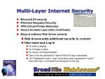 multi layer internet security