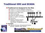 traditional hmi and scada