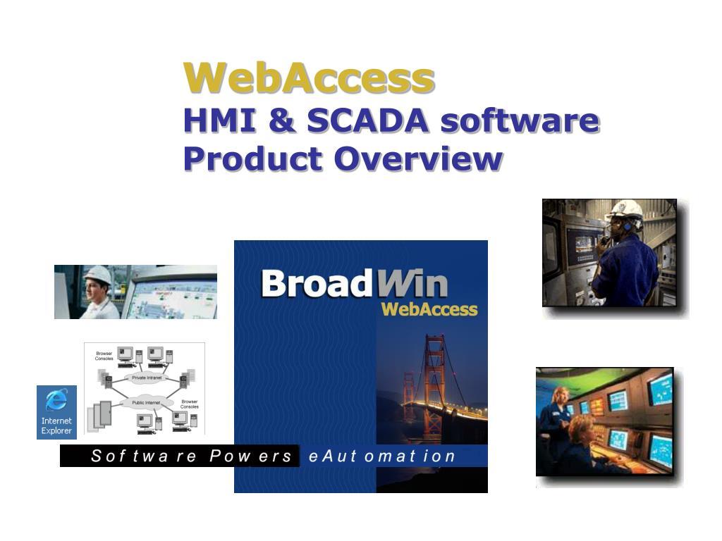 webaccess hmi scada software product overview