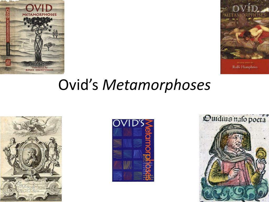 ovid s metamorphoses l.