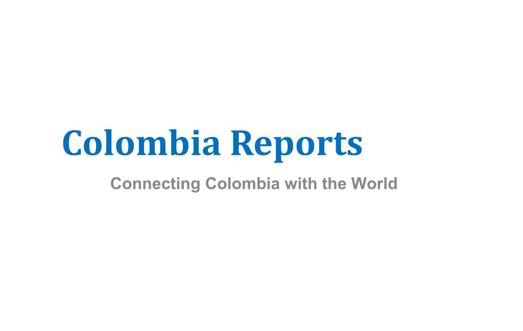 colombia reports l.
