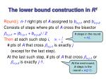 the lower bound construction in r 1