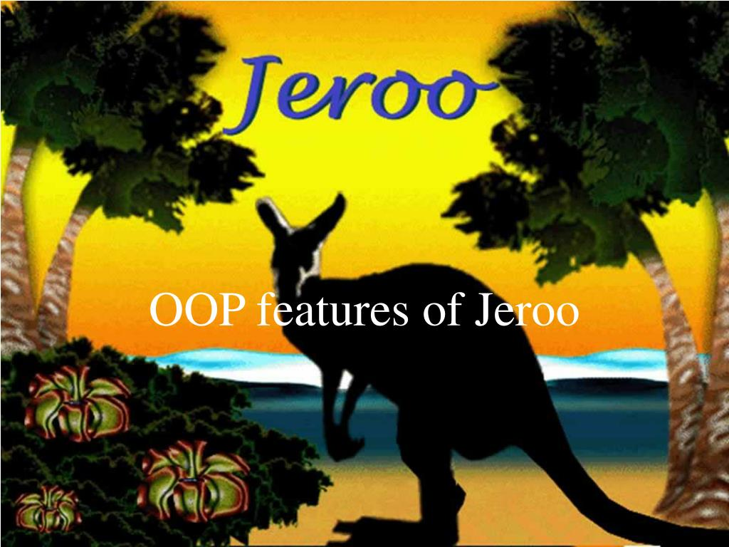 oop features of jeroo l.