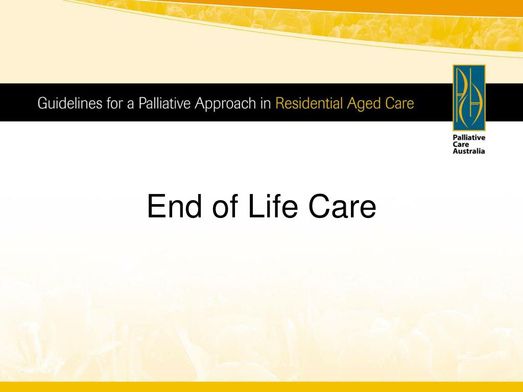 end of life care l.