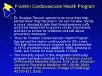 franklin cardiovascular health program