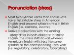 pronunciation stress21