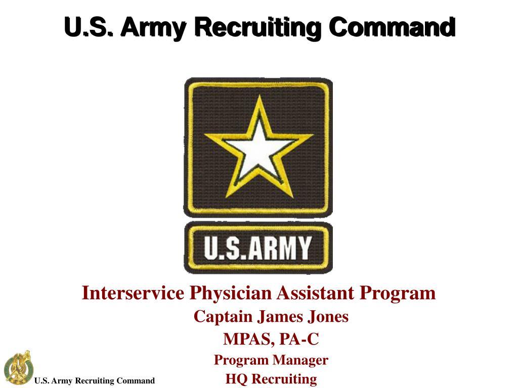 u s army recruiting command l.