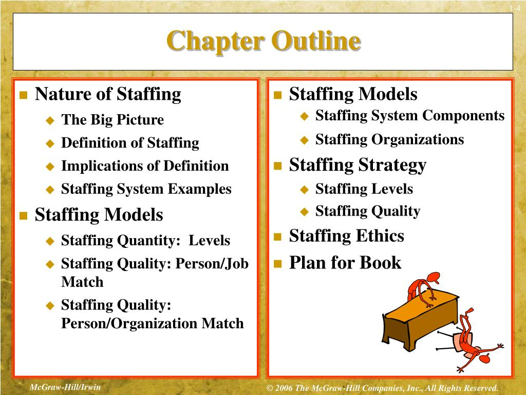 PPT - Chapter 1: Staffing Models and Strategy PowerPoint