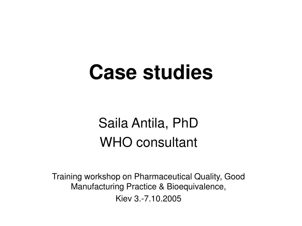 case studies l.