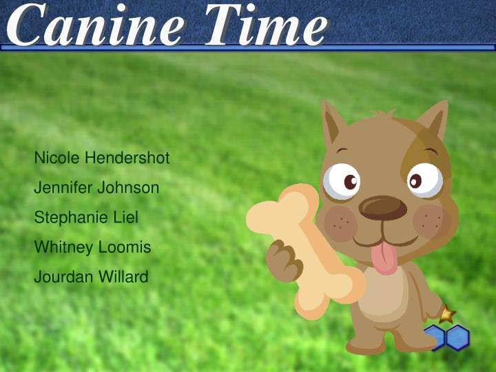 Canine time