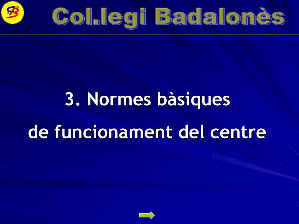 3. Normes bàsiques