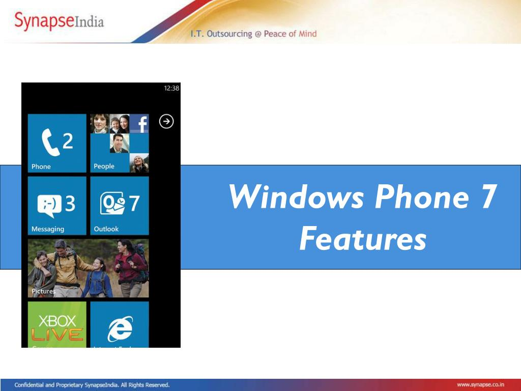 Windows Phone 7 Features