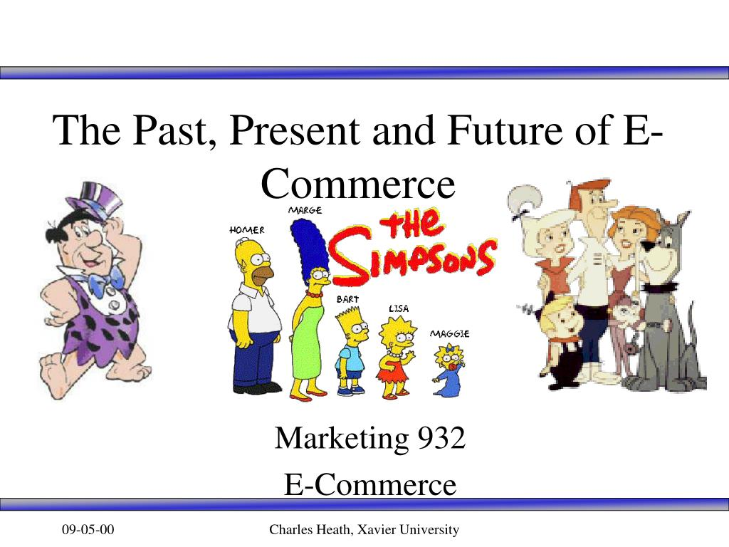 the past present and future of e commerce l.