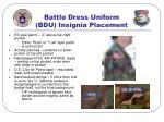 battle dress uniform bdu insignia placement51