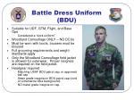 battle dress uniform bdu