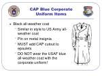 cap blue corporate uniform items33