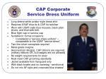 cap corporate service dress uniform
