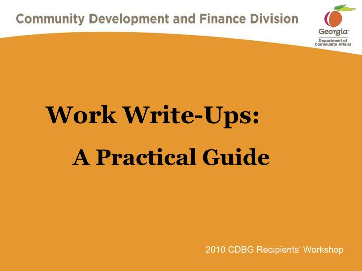 write ups at work At ups, we'll help future you reach your goals for college and beyond through earn and learn, our tuition assistance program, you can receive thousands of dollars to help with college expenses the program requires that students work part-time in the ups air operation in louisville, ky.