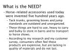 what is the need
