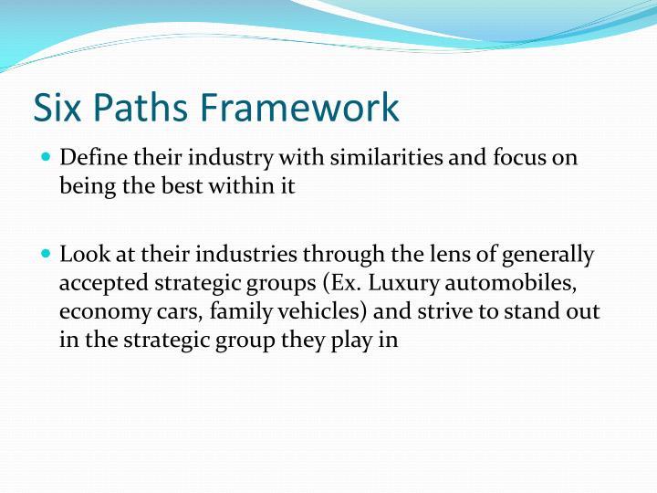 six path framework