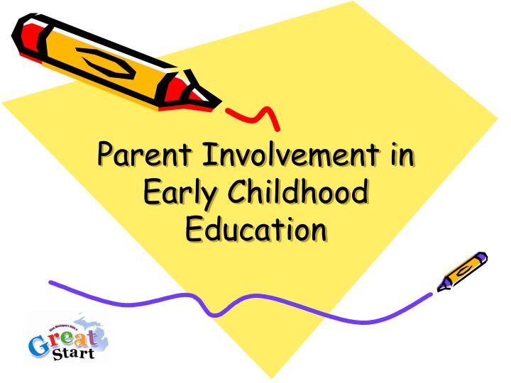 parent involvement in early childhood education n.