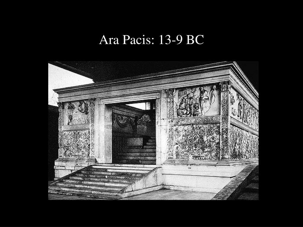 Ara Pacis: 13-9 BC