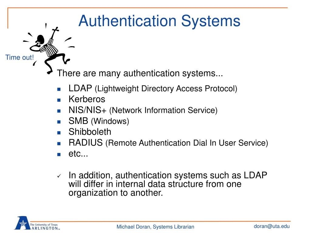 Authentication Systems