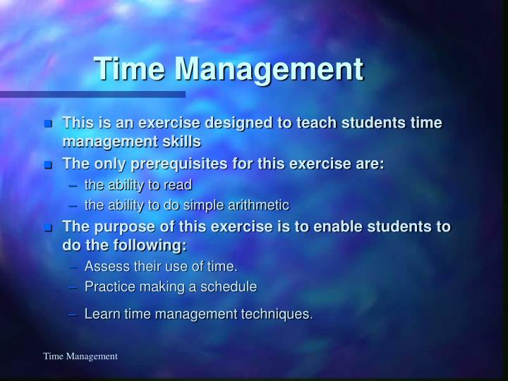 Time management3