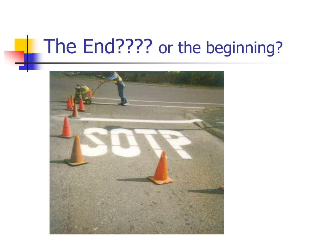 The End????