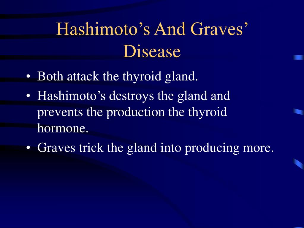 Hashimoto's And Graves' Disease