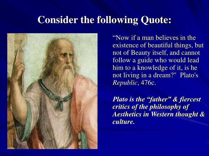 Consider the following quote