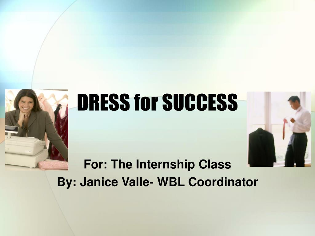 dress for success l.