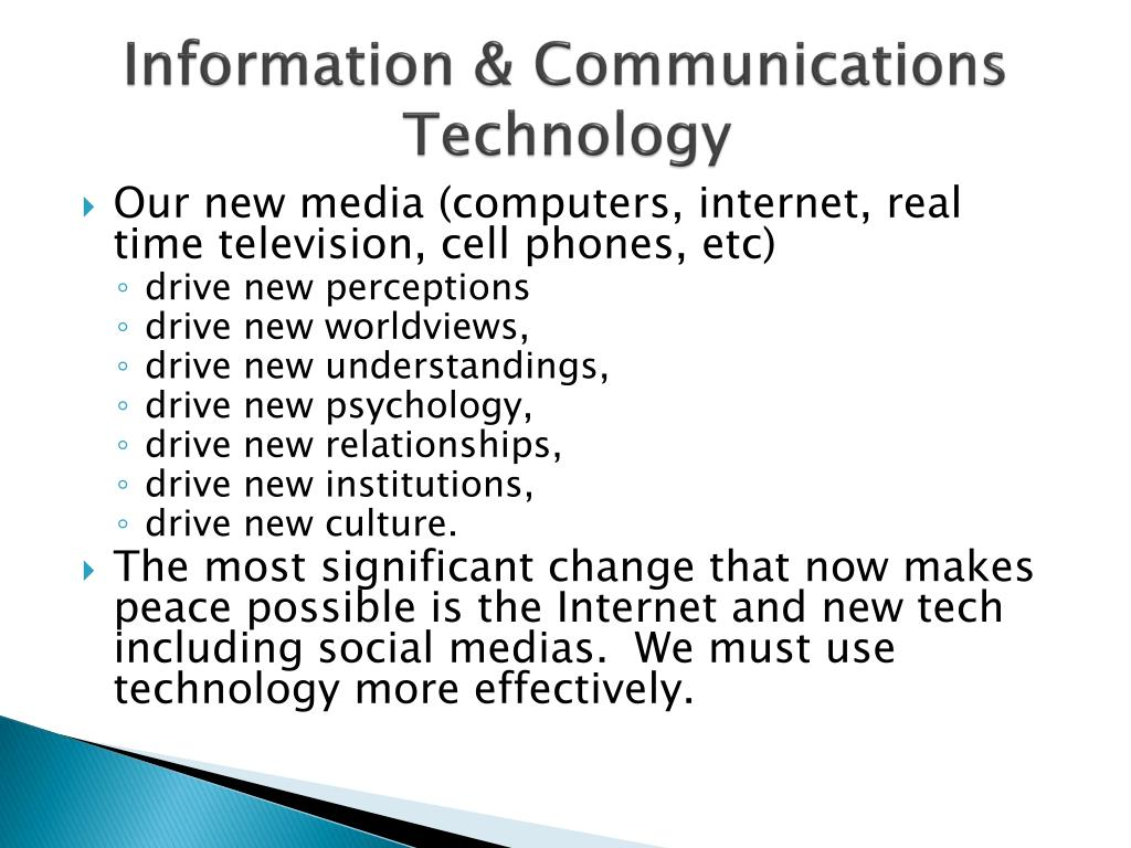 Information & Communications Technology