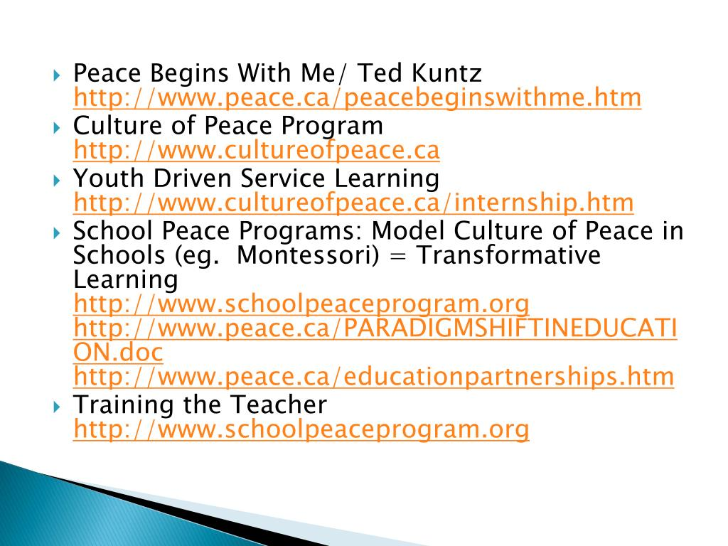 Peace Begins With Me/ Ted Kuntz