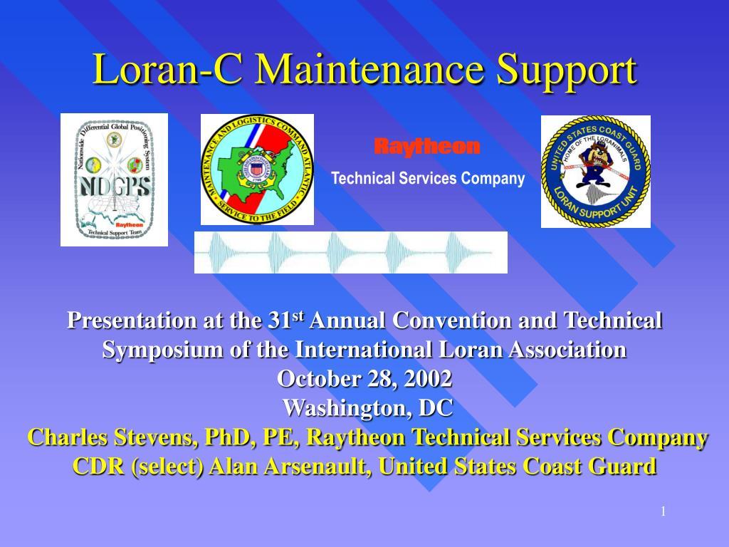 loran c maintenance support l.