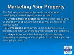 marketing your property15
