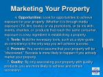 marketing your property16