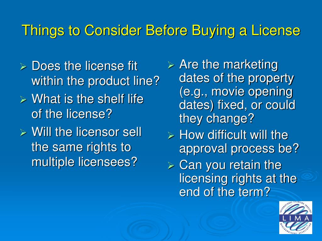 Does the license fit within the product line?