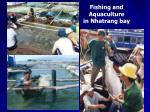 fishing and aquaculture in nhatrang bay