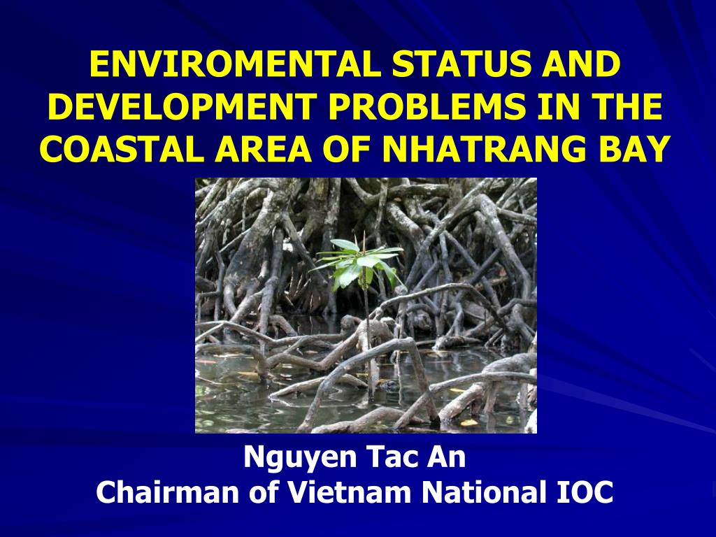 ENVIROMENTAL STATUS AND DEVELOPMENT PROBLEMS IN THE COASTAL AREA OF NHATRANG BAY
