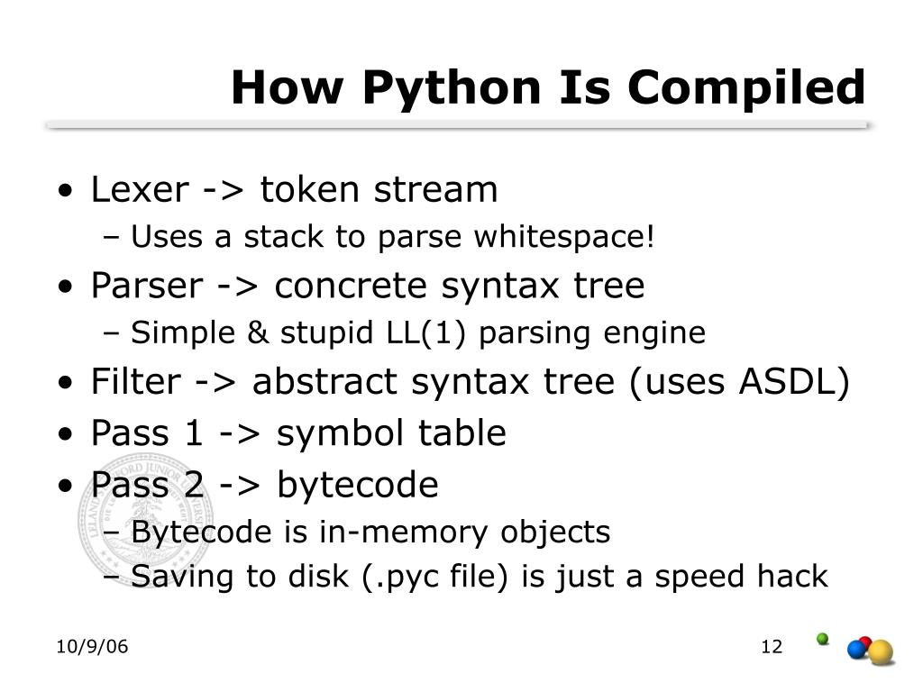How Python Is Compiled