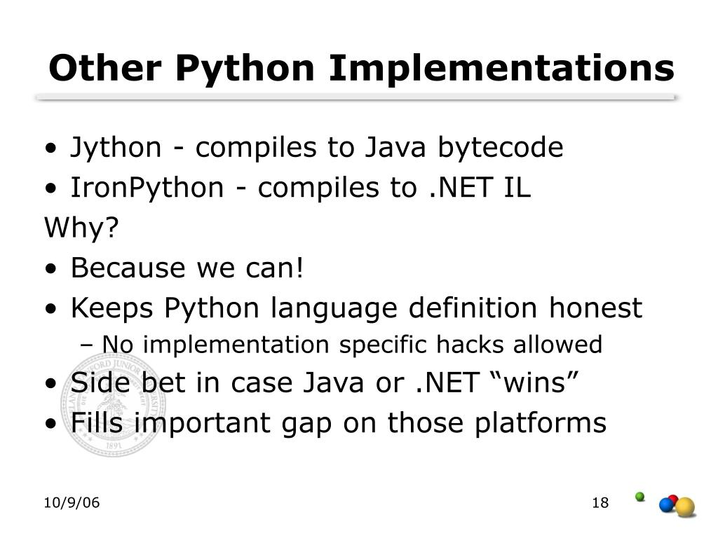 Other Python Implementations