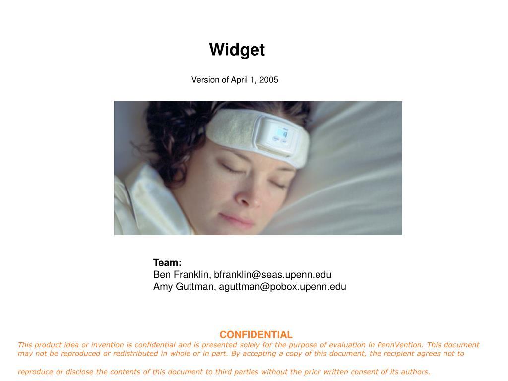 widget l.