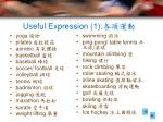 useful expression 1