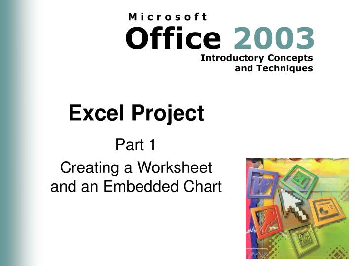 Excel project