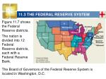 11 3 the federal reserve system51