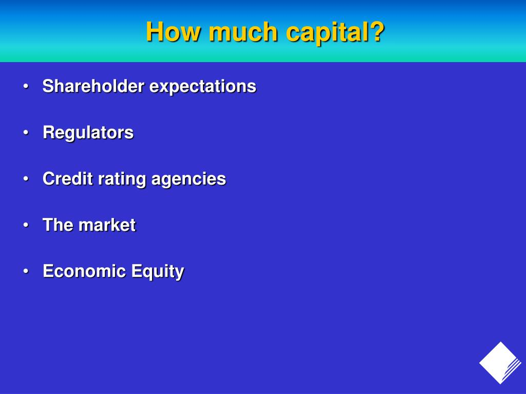 How much capital?