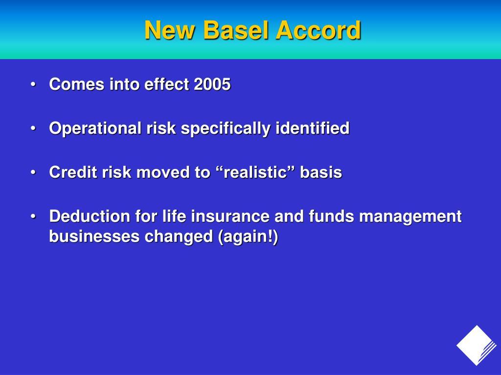 New Basel Accord