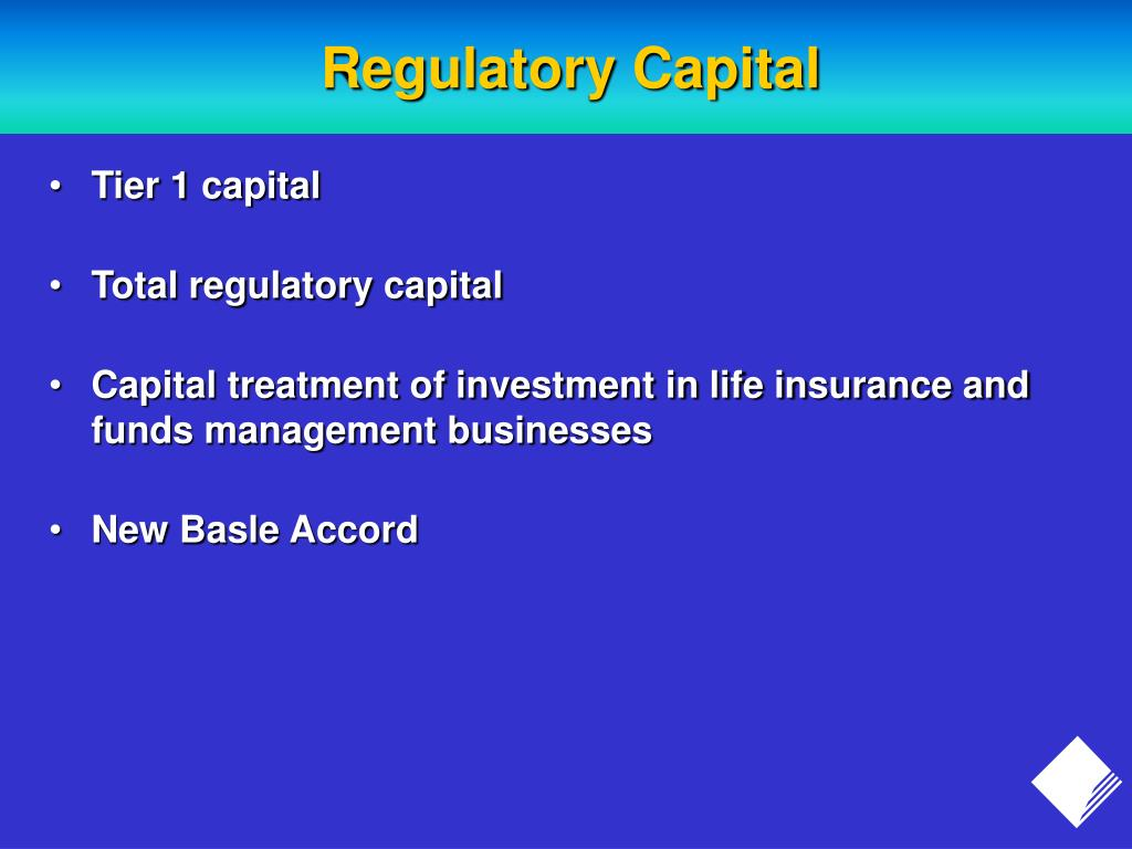 Regulatory Capital